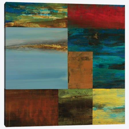 Inch Blue Canvas Print #STK18} by Sarah Stockstill Canvas Art Print