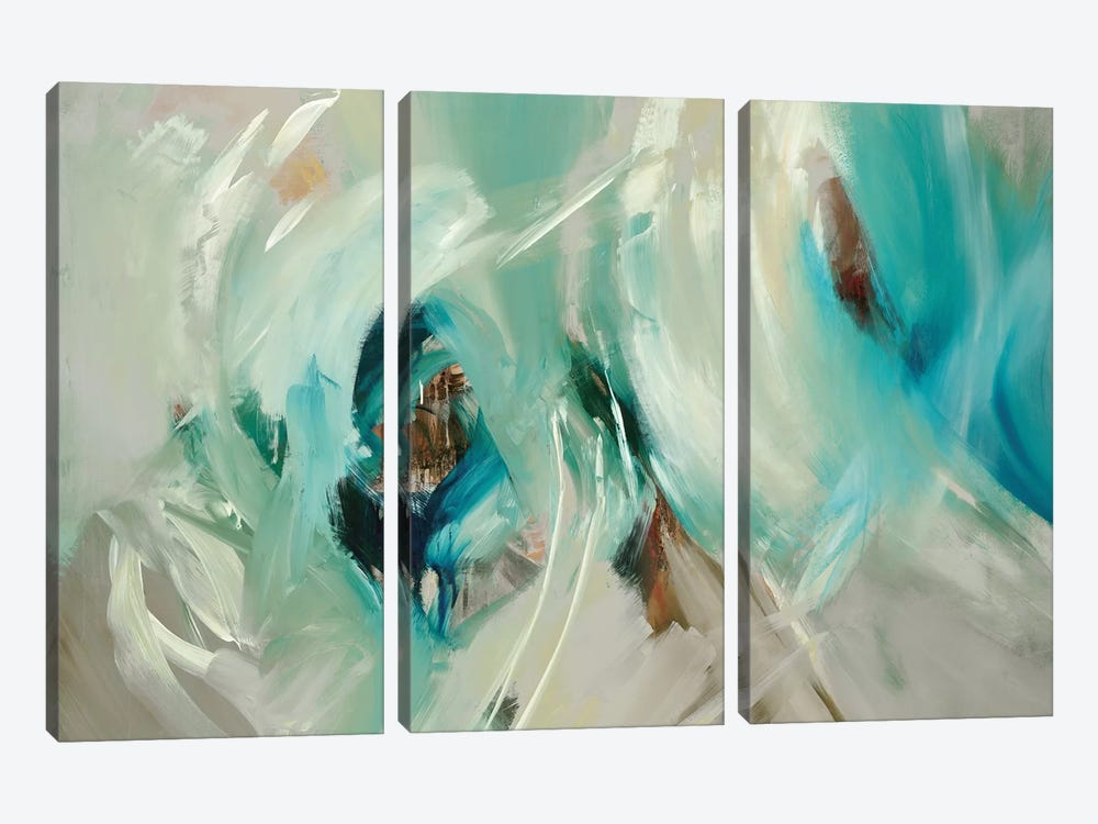 Bella by Sarah Stockstill 3-piece Canvas Art Print