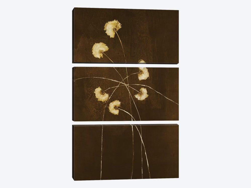 Night Blossoms I by Sarah Stockstill 3-piece Canvas Art