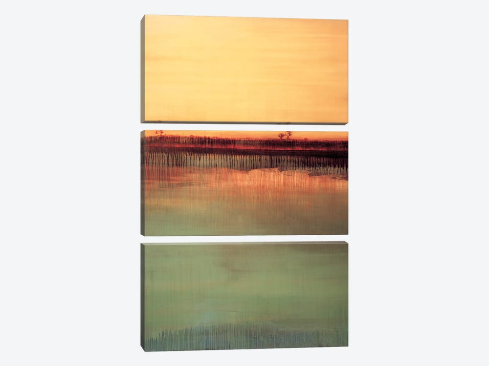 Straight Into Transcendence by Sarah Stockstill 3-piece Canvas Art