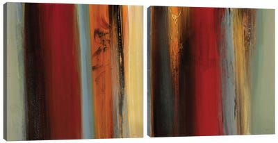 District Diptych Canvas Art Print