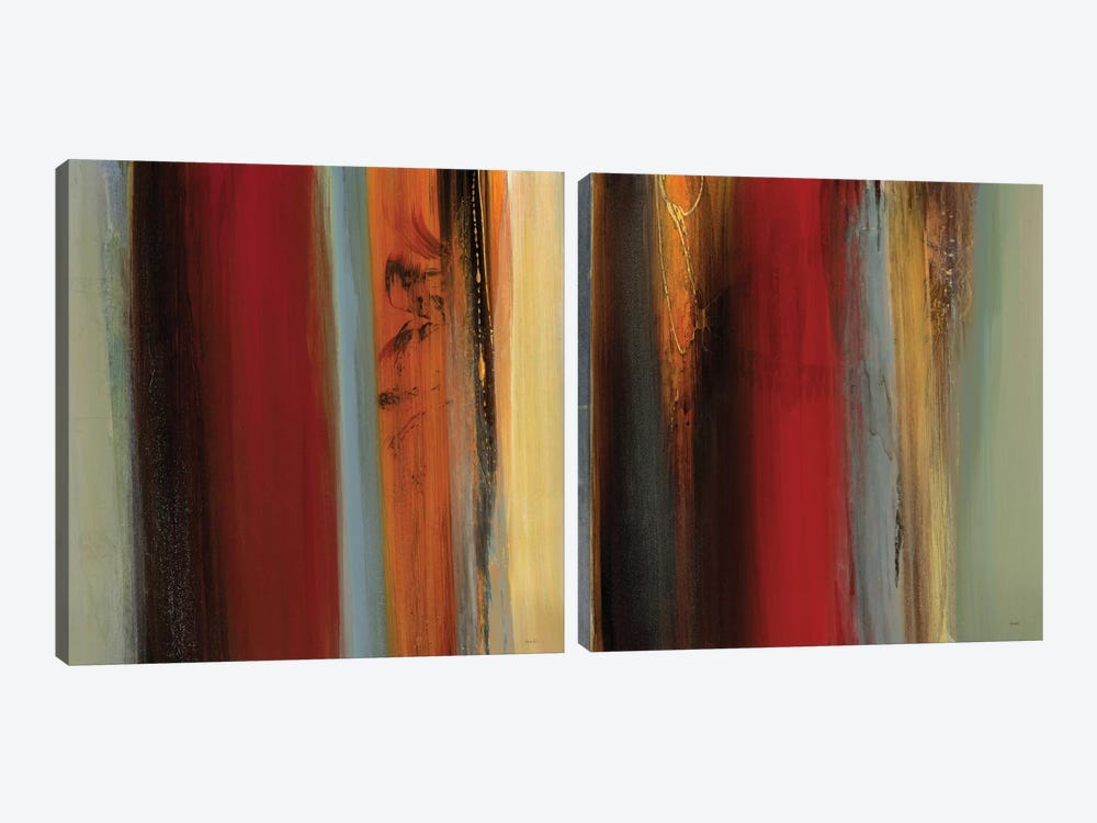 District Diptych by Sarah Stockstill 2-piece Canvas Artwork