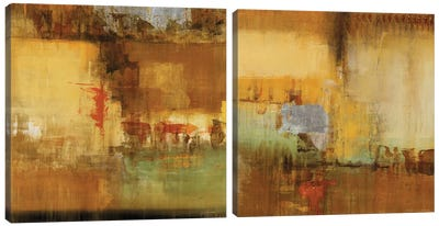 Echo Diptych Canvas Art Print
