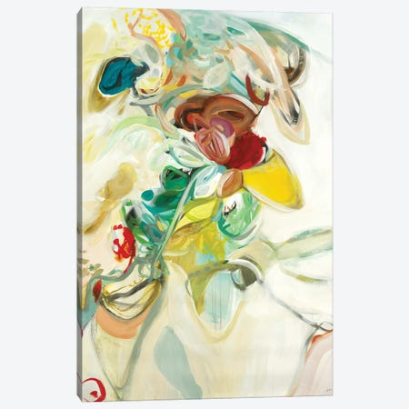 Blissful Canvas Print #STK33} by Sarah Stockstill Art Print