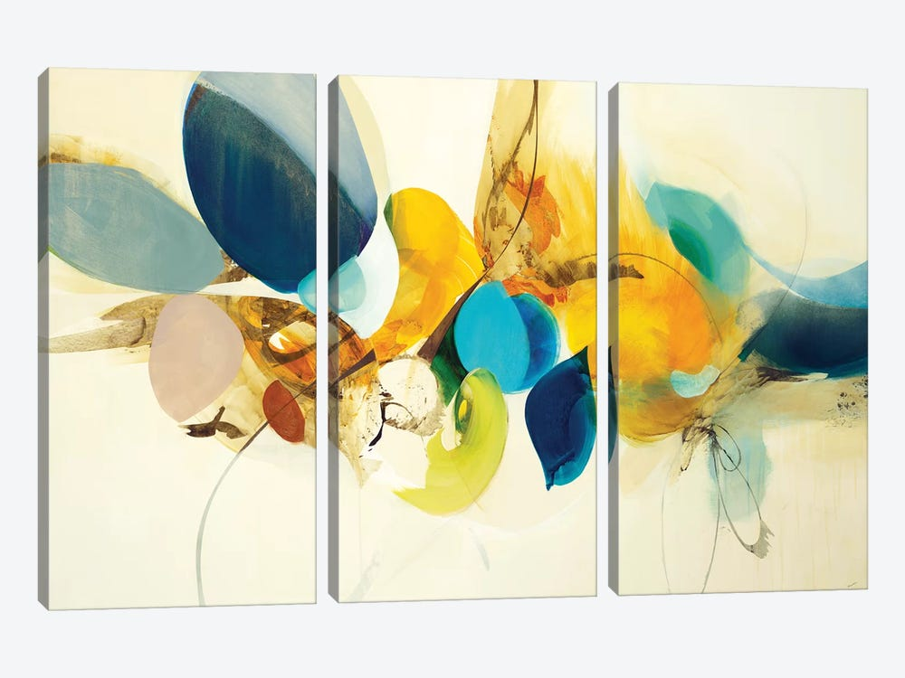 Candid Color by Sarah Stockstill 3-piece Art Print