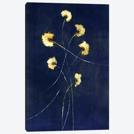 Indigo I Canvas Print #STK43} by Sarah Stockstill Canvas Wall Art