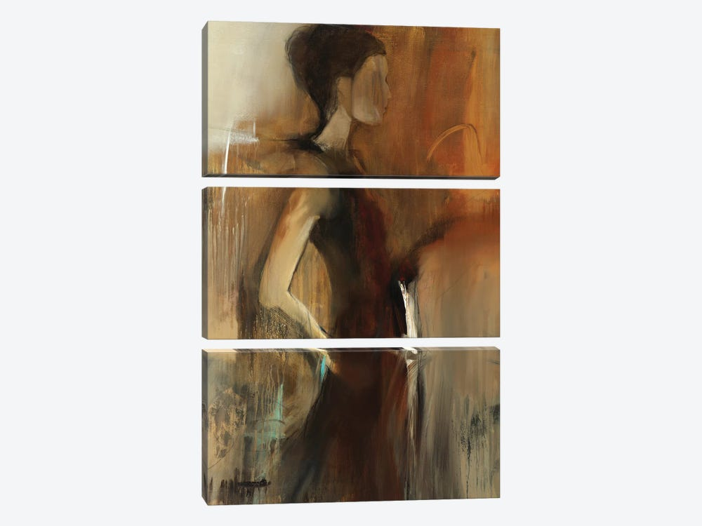Evelyn by Sarah Stockstill 3-piece Canvas Art Print