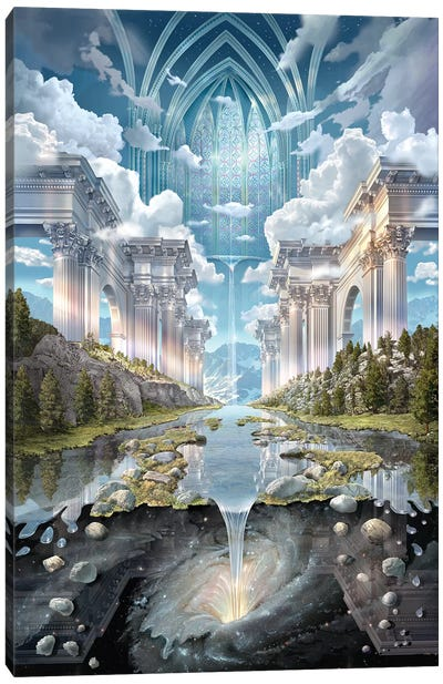 Genesis II Canvas Art Print