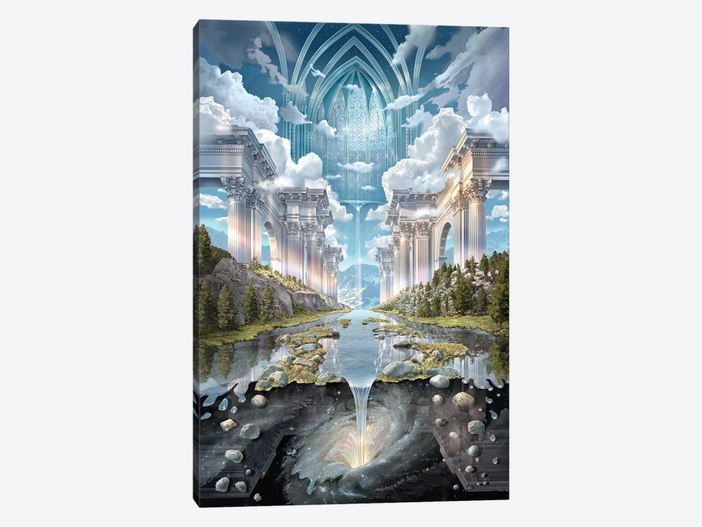 Genesis II by John Stephens 1-piece Canvas Print
