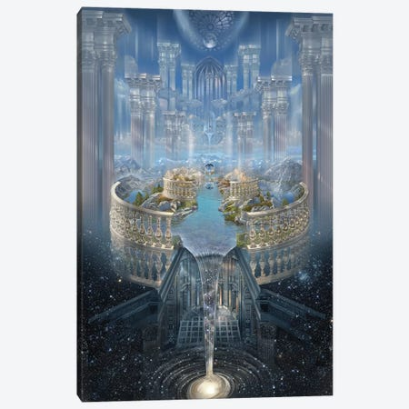 Solace I Canvas Print #STN3} by John Stephens Canvas Wall Art