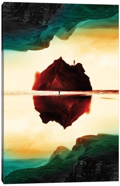 Isolation Island Canvas Art Print