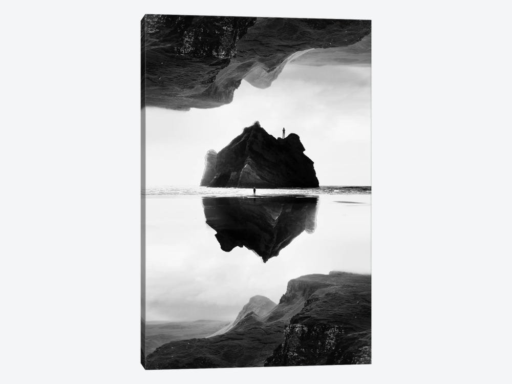 Isolation Island In B&W by Stoian Hitrov 1-piece Canvas Art