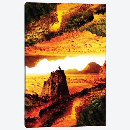 Lava Isolation Canvas Print #STO14} by Stoian Hitrov Canvas Art