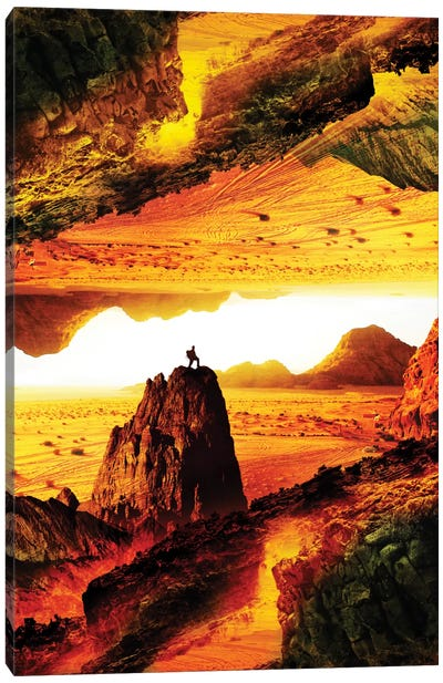 Lava Isolation Canvas Print #STO14