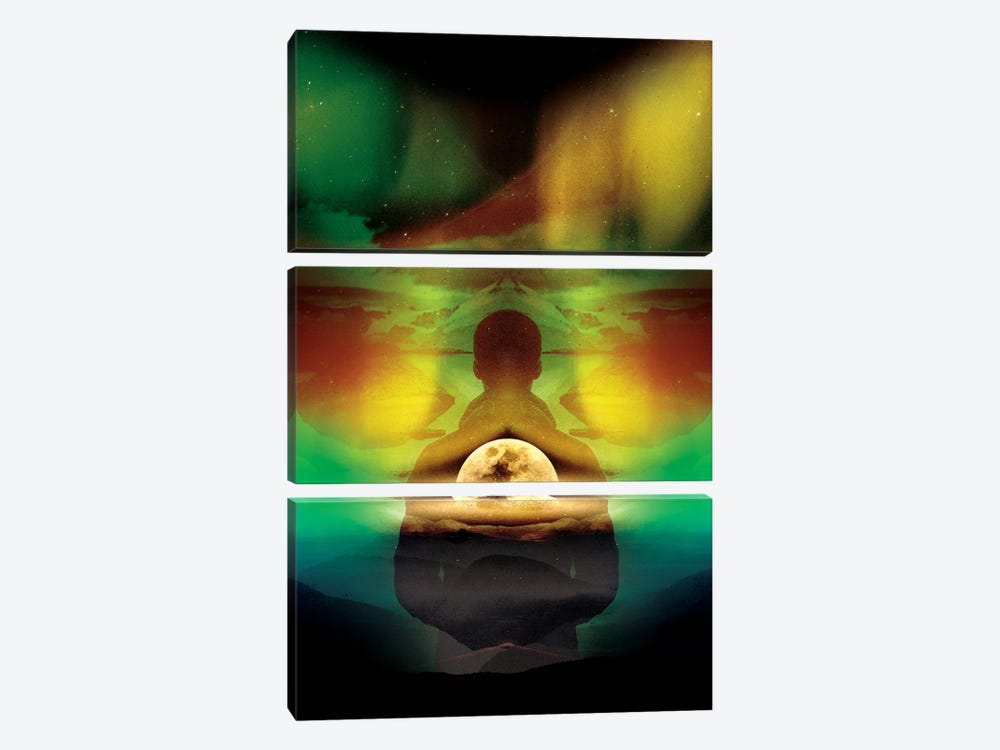 Lucid Dream Of Isolation by Stoian Hitrov 3-piece Art Print