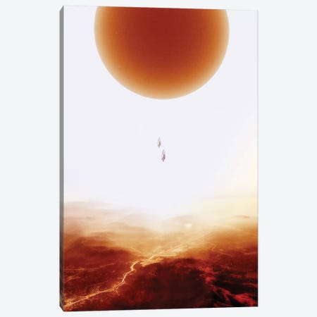 Mars Diving Canvas Print #STO22} by Stoian Hitrov Canvas Artwork