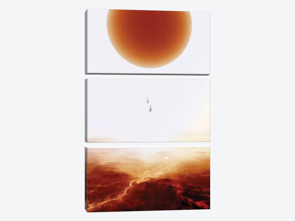 Mars Diving by Stoian Hitrov 3-piece Canvas Artwork