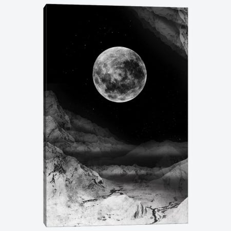 Moon Canvas Print #STO25} by Stoian Hitrov Art Print