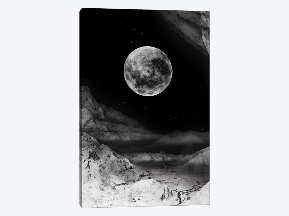 Moon by Stoian Hitrov 1-piece Art Print