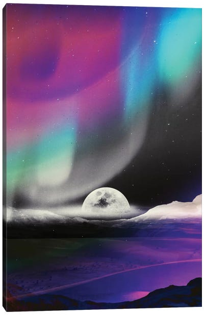 Moon After Birth Canvas Art Print