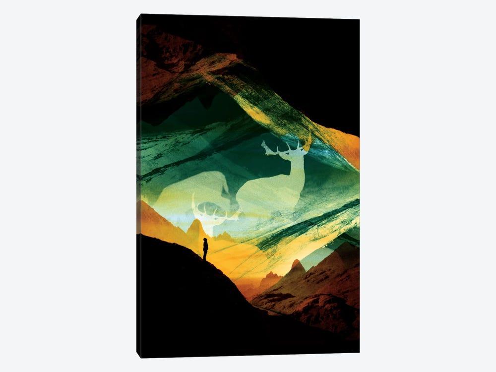 Native Dreamcatcher by Stoian Hitrov 1-piece Canvas Art Print