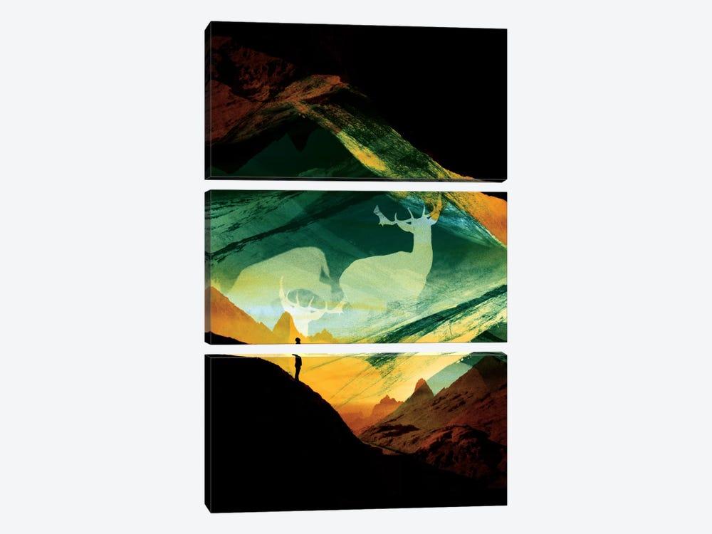 Native Dreamcatcher by Stoian Hitrov 3-piece Art Print