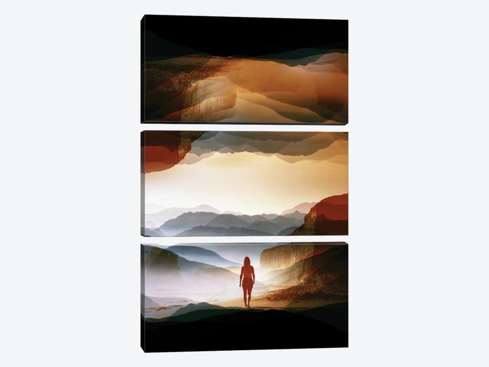 Quiet Heat by Stoian Hitrov 3-piece Canvas Print