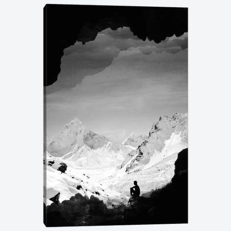 Snowy Isolation Canvas Print #STO33} by Stoian Hitrov Canvas Print