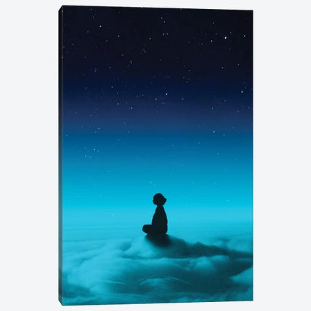Cloud Rider Canvas Print #STO35} by Stoian Hitrov Canvas Artwork