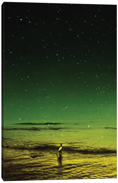 Lost Surfer Canvas Art Print