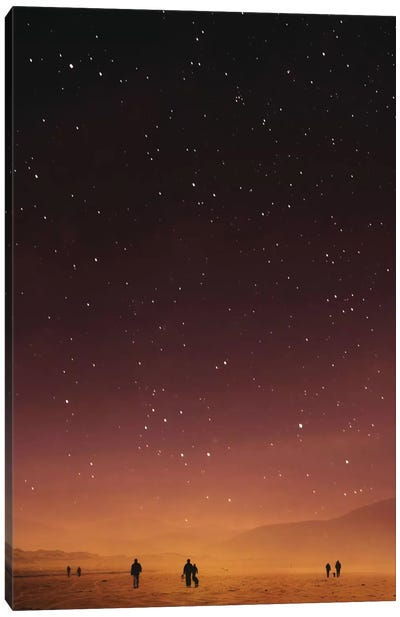 Planet Walk Canvas Art Print