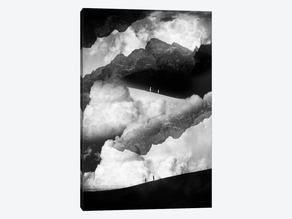 State Of Black And White Isolation by Stoian Hitrov 1-piece Canvas Art Print