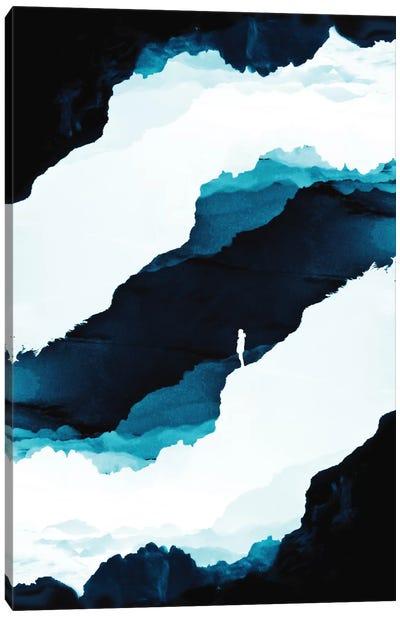Teal Isolation Canvas Print #STO42