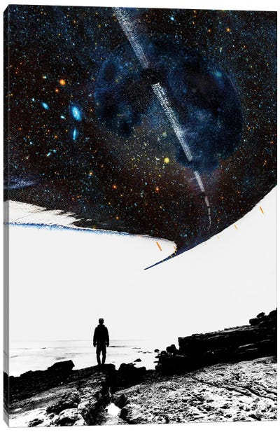 The Road Less Traveled Canvas Print #STO44