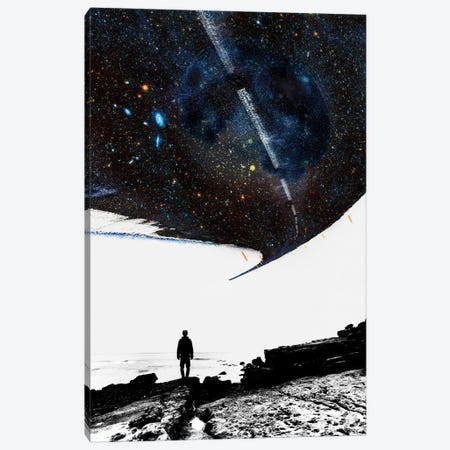 The Road Less Traveled Canvas Print #STO44} by Stoian Hitrov Canvas Art Print