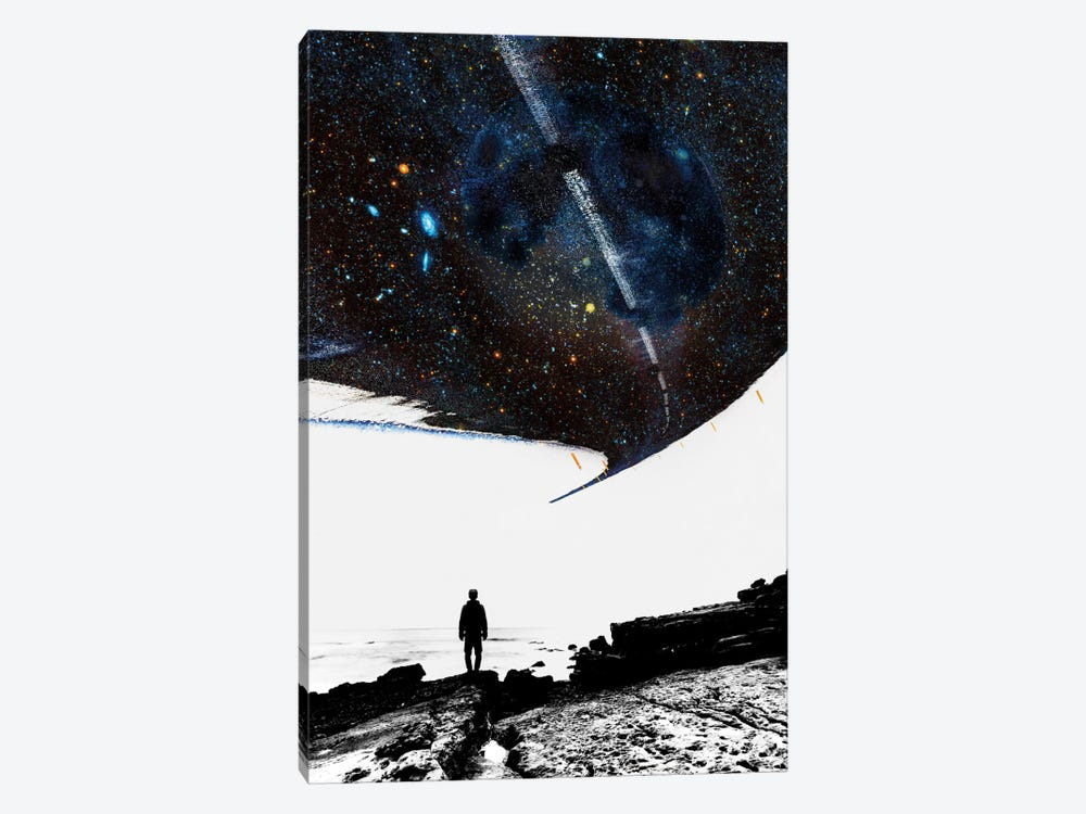 The Road Less Traveled by Stoian Hitrov 1-piece Canvas Artwork