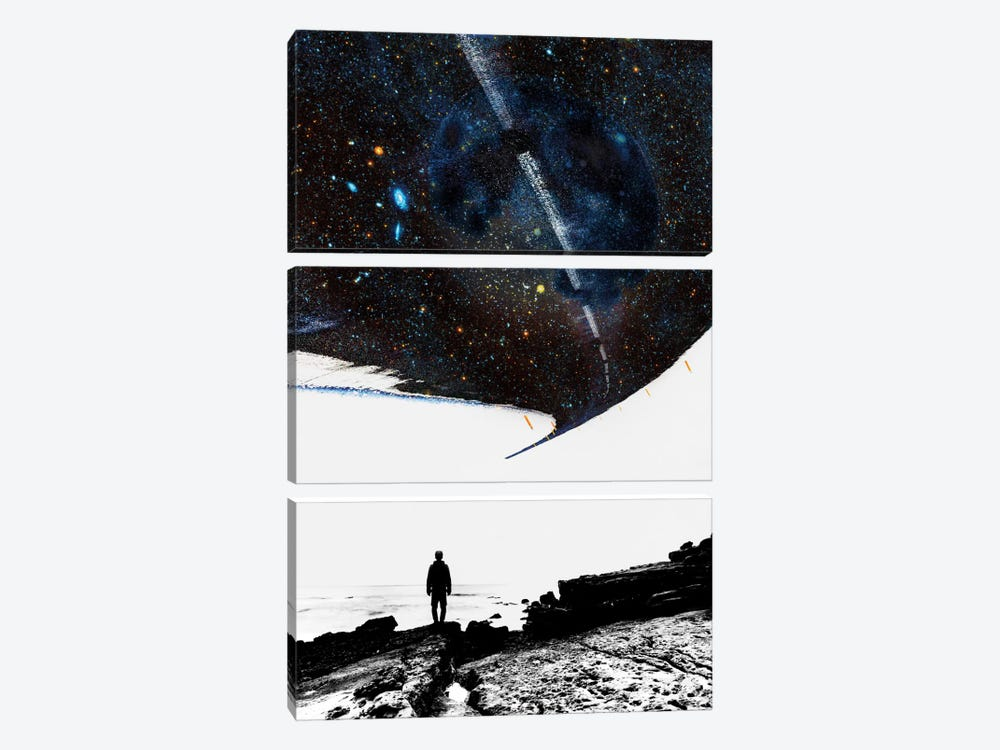 The Road Less Traveled by Stoian Hitrov 3-piece Canvas Artwork