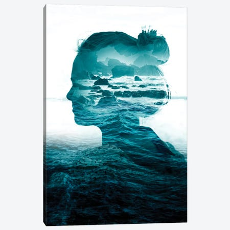 The Sea Inside Me Canvas Print #STO45} by Stoian Hitrov Canvas Print