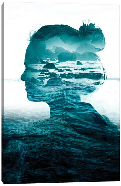 The Sea Inside Me Canvas Art Print