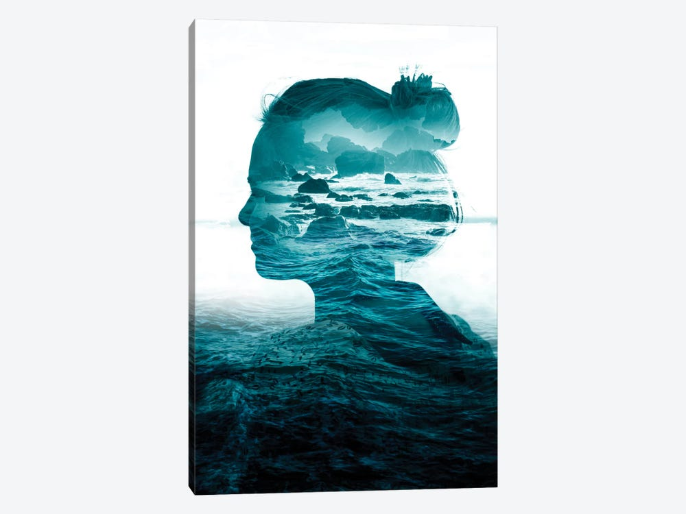 The Sea Inside Me by Stoian Hitrov 1-piece Art Print