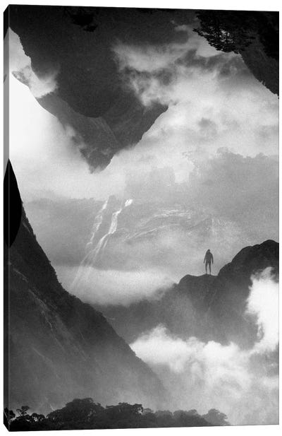 These Mountains Are Mine Of Clouds Canvas Print #STO46