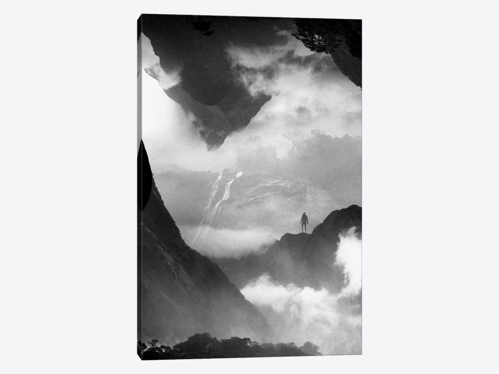 These Mountains Are Mine Of Clouds by Stoian Hitrov 1-piece Canvas Artwork