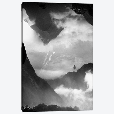 These Mountains Are Mine Of Clouds Canvas Print #STO46} by Stoian Hitrov Canvas Print