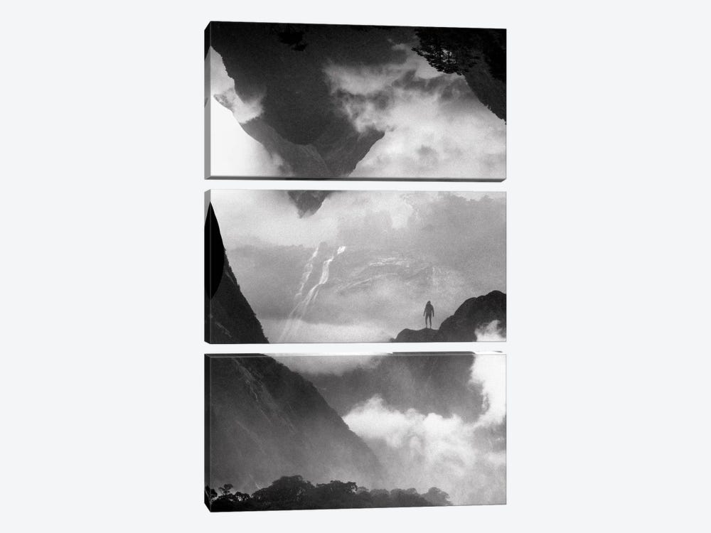 These Mountains Are Mine Of Clouds by Stoian Hitrov 3-piece Canvas Artwork