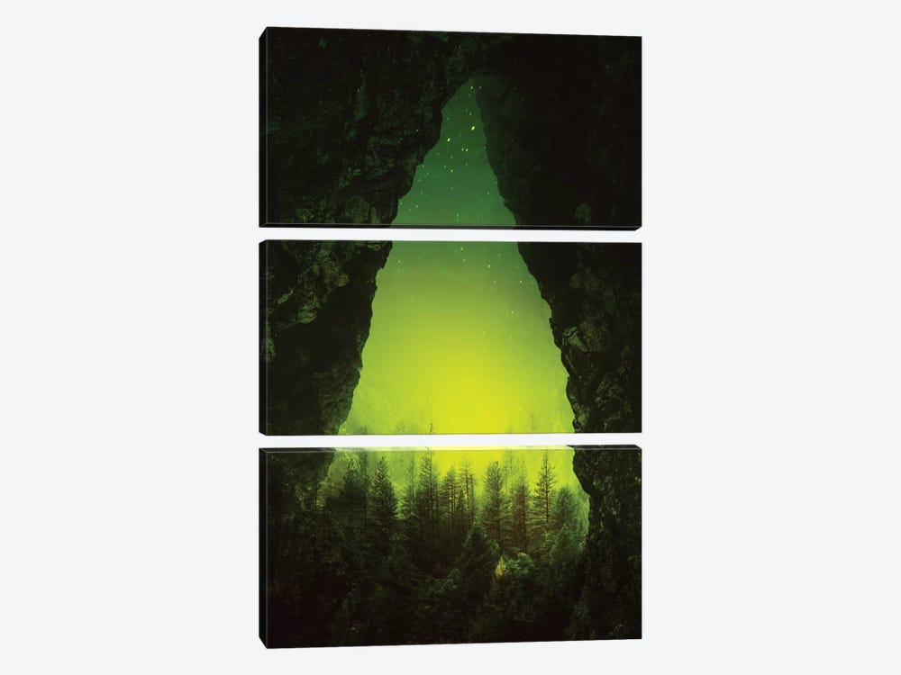 Toxic Forest by Stoian Hitrov 3-piece Canvas Print