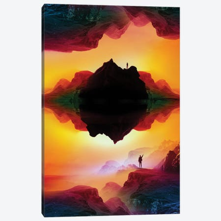 Vibrant Isolation Island Canvas Print #STO51} by Stoian Hitrov Canvas Print