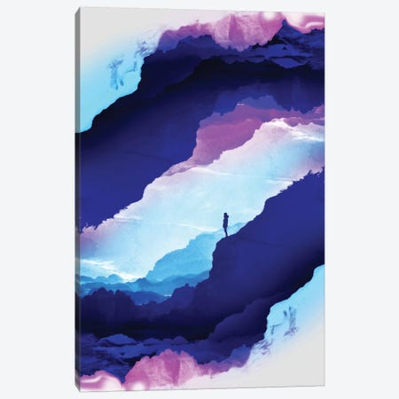 Violet Dream Of Isolation Canvas Print #STO53} by Stoian Hitrov Canvas Art Print