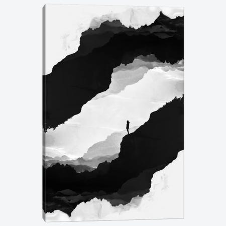 White Isolation Canvas Print #STO55} by Stoian Hitrov Canvas Wall Art