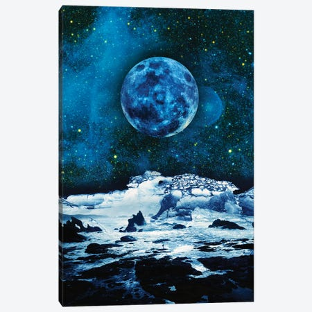 Blue Traveler Canvas Print #STO58} by Stoian Hitrov Canvas Art Print