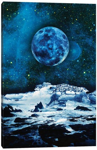 Blue Traveler Canvas Art Print